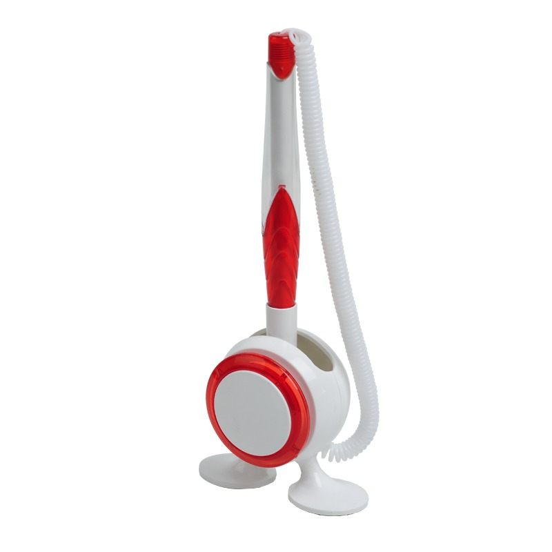 JOT&BOX ballpoint pen with stand,  red/white