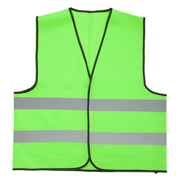 VEST XL2 safety vest size XL,  light green