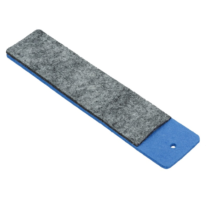 FELT pen case, blue/grey