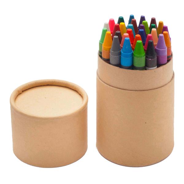 WAX 30 set of wax crayons,  beige