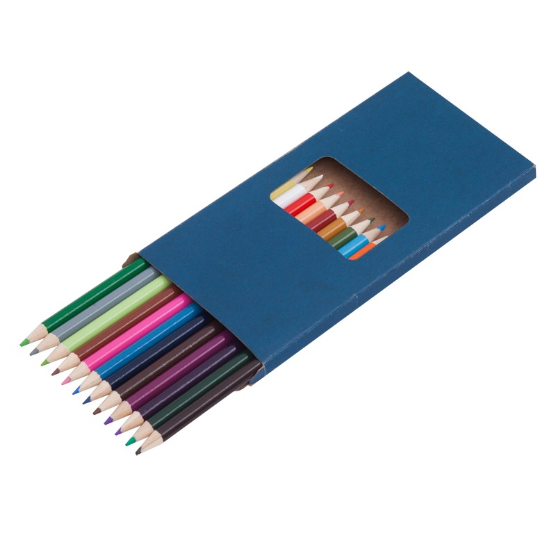 DUO set of crayons,  dark blue