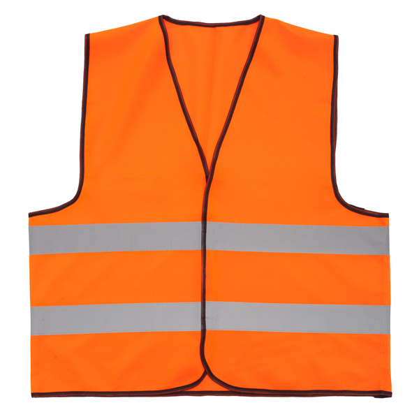 VEST L1 safety vest size L,  orange
