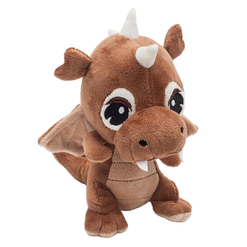 DRAGON plush toy,  brown