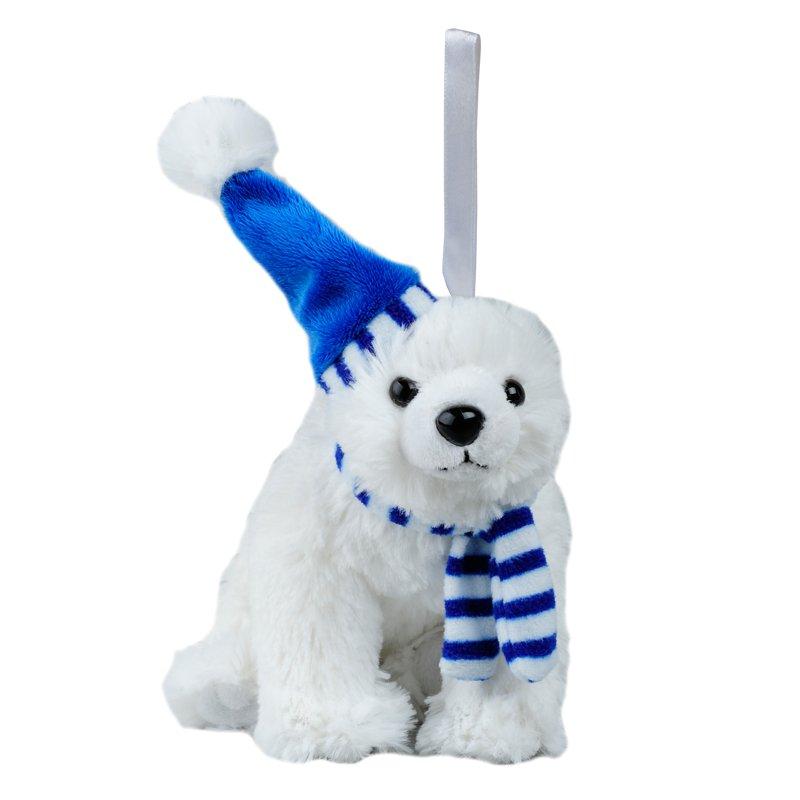 POLAR BEAR plush toy,  white