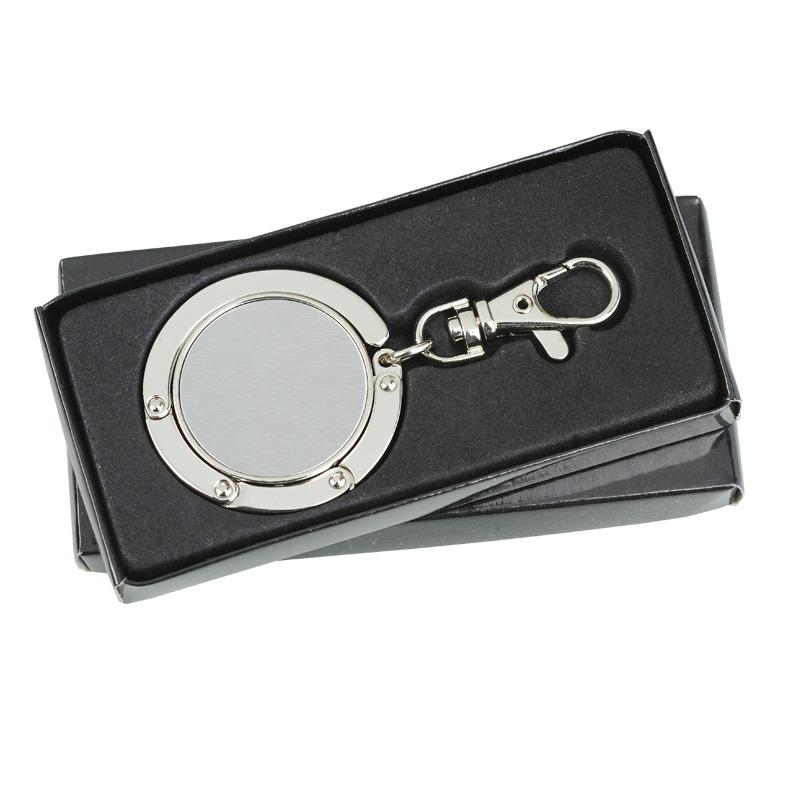 SHINE handbag folding hanger,  silver