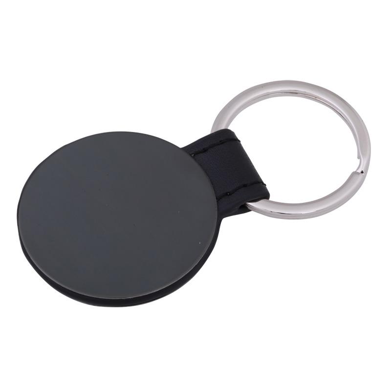 RITZY key ring,  grey/black