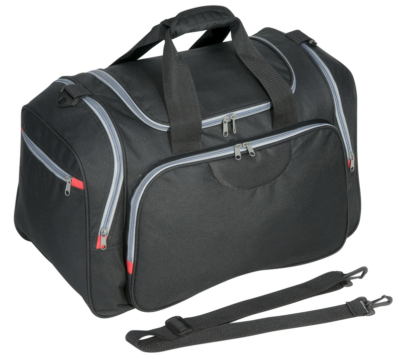 INDIANAPOLIS travel bag,  black