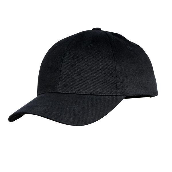 SANTAREM 6 panel cap,  black