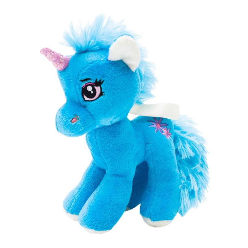 UNICORN plush toy,  blue