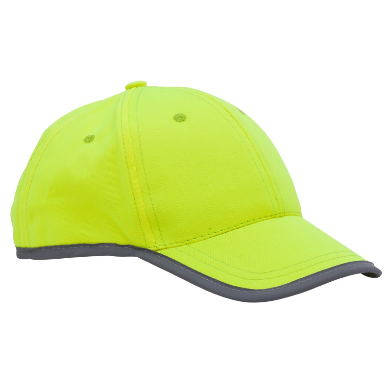SPORTIF baby hat with reflective stripe,  yellow