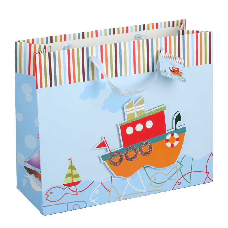 SHIP Gift Bag,  multicolor
