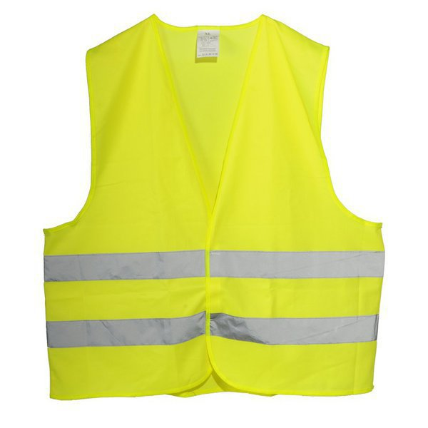 SAFETY XL reflective vest,  yellow