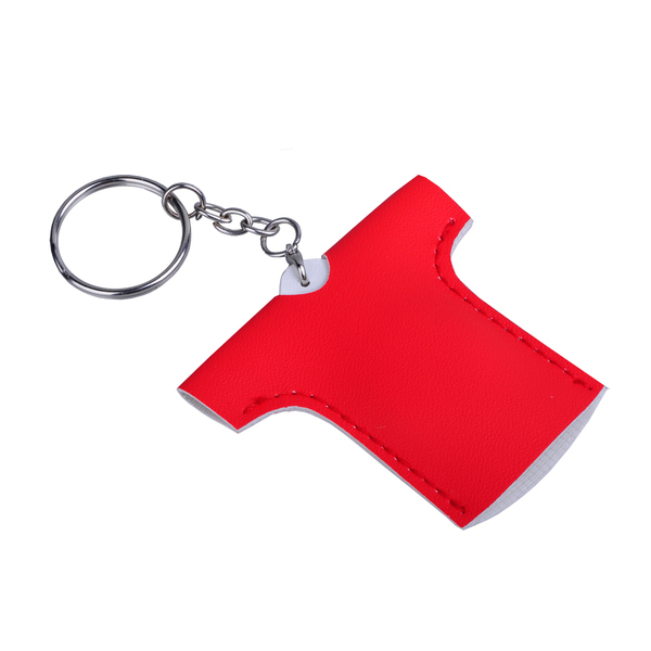 T-SHIRT key ring,  red