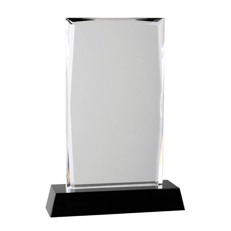 TRADITION trophy,  transparent/black