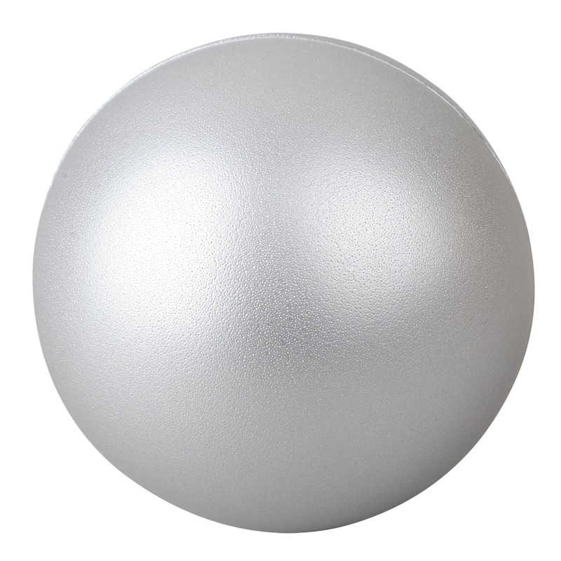 BALL antistress toy,  silver