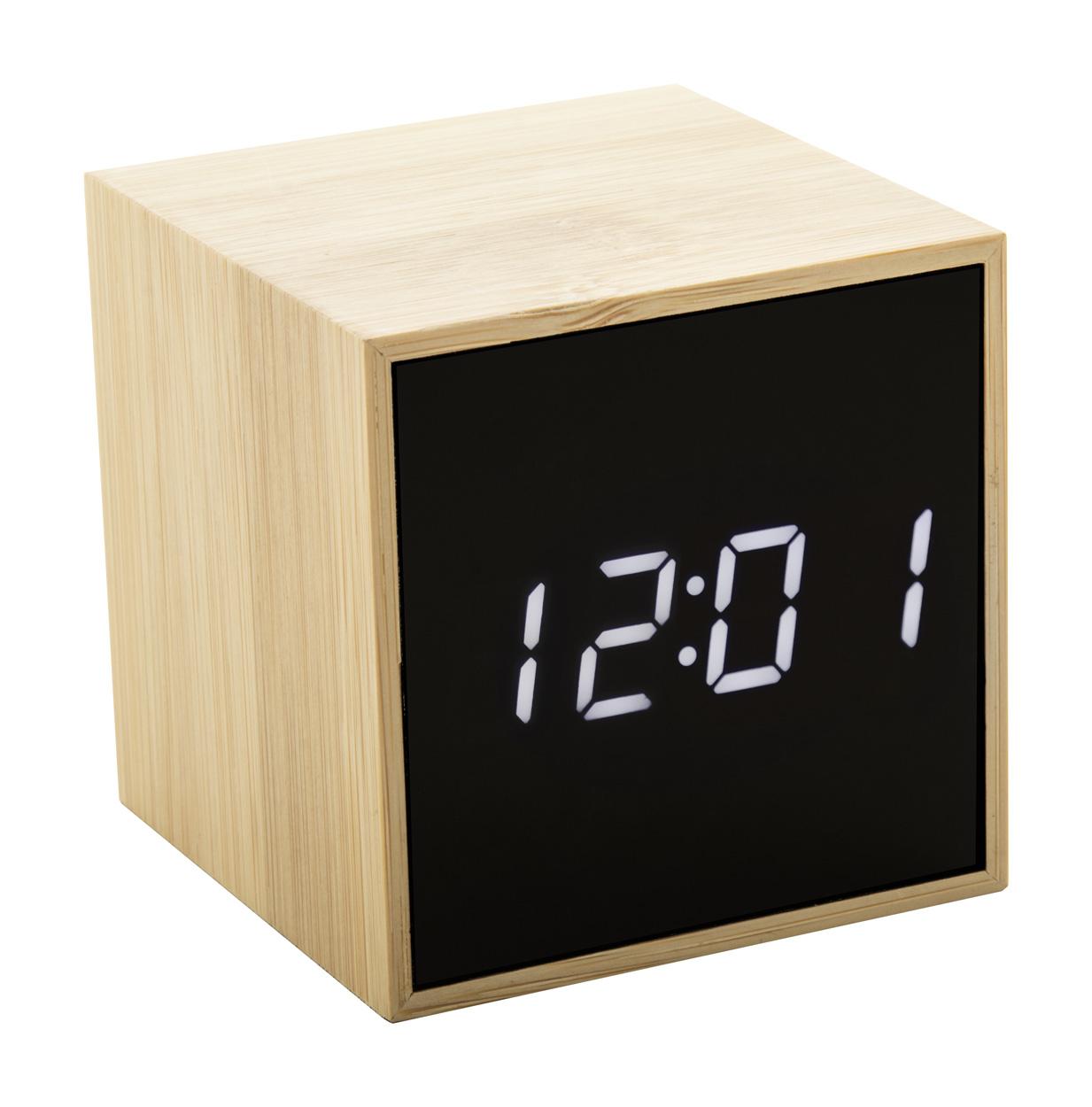 Boolarm bamboo alarm clock