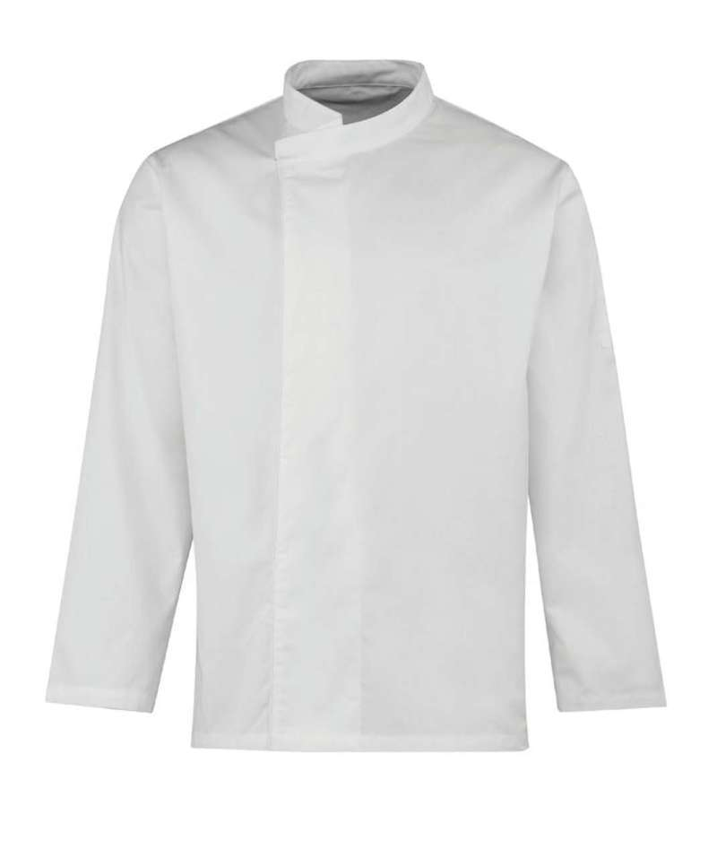 'CULINARY' CHEF'S LONG SLEEVE PULL ON TUNIC