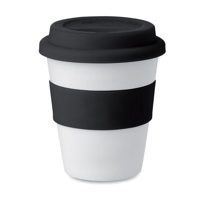 PP tumbler with silicone lid