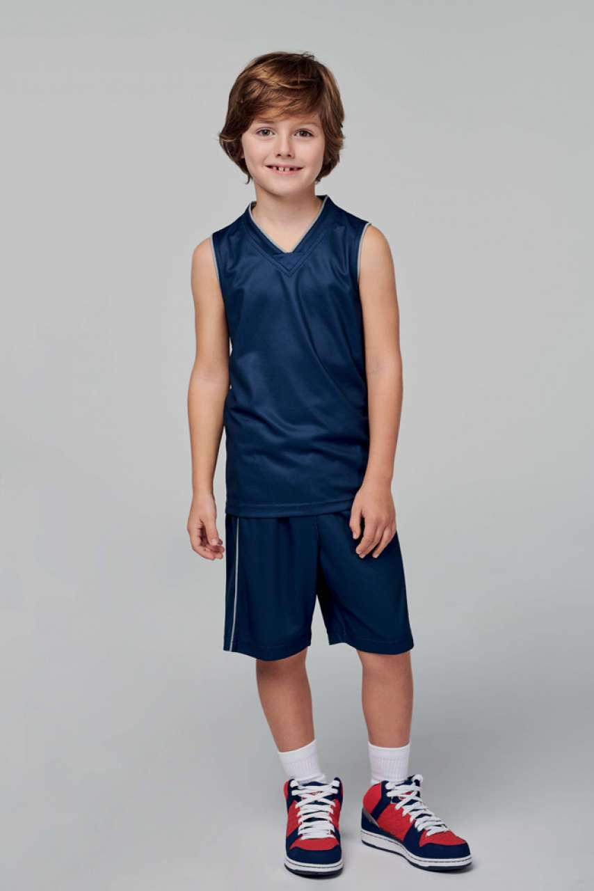 KIDS' BASKETBALL JERSEY