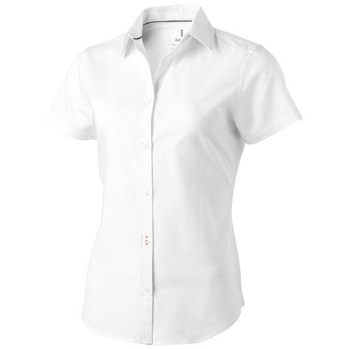 Manitoba short sleeve women's oxford shirt