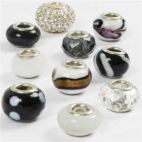Glass Charm Beads