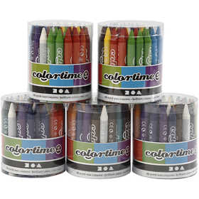 Colortime wax crayons