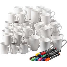 Porcelain 48 Mugs