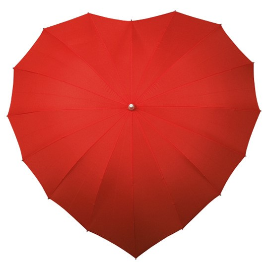 Umbrella Heart Shaped, windproof