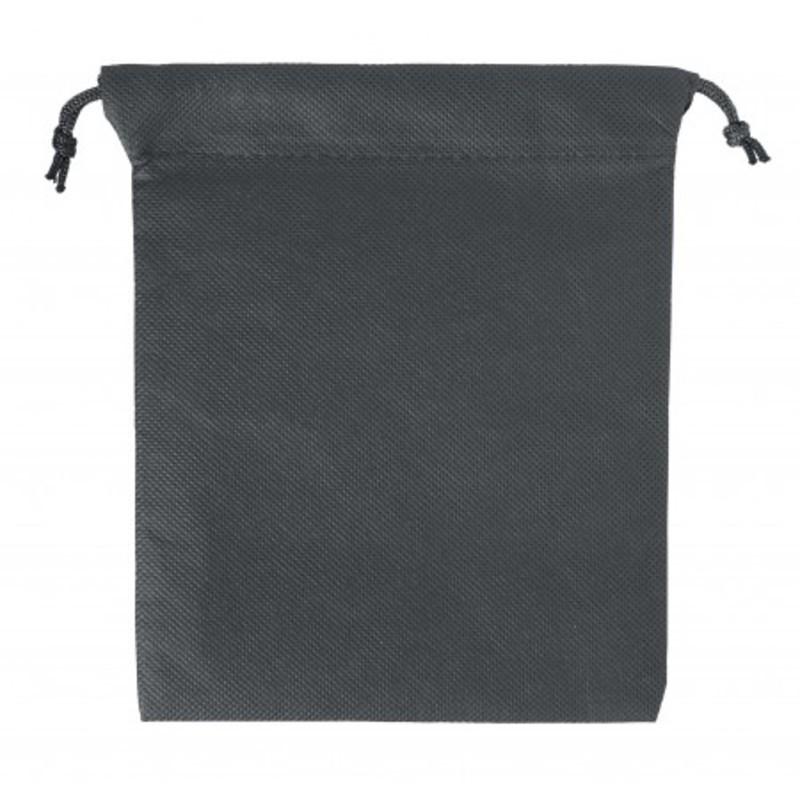 Nonwoven, drawstring pouch