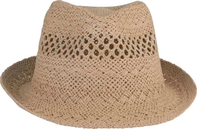 PANAMA-STYLE STRAW HAT