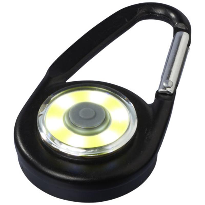 Eye COB light with carabiner