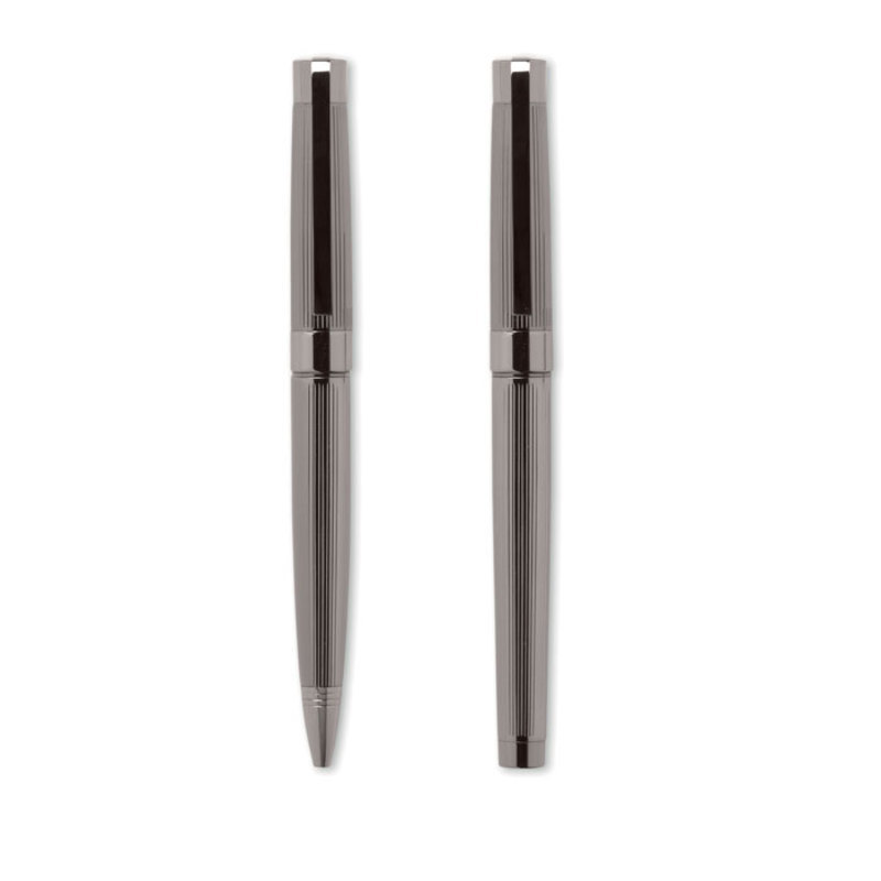 Metal ball pen and roller set
