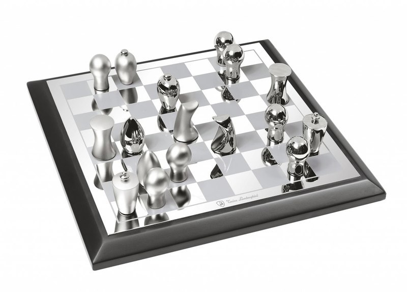 CHESS GAME LUX BOX LEGNO - 230x230 mm