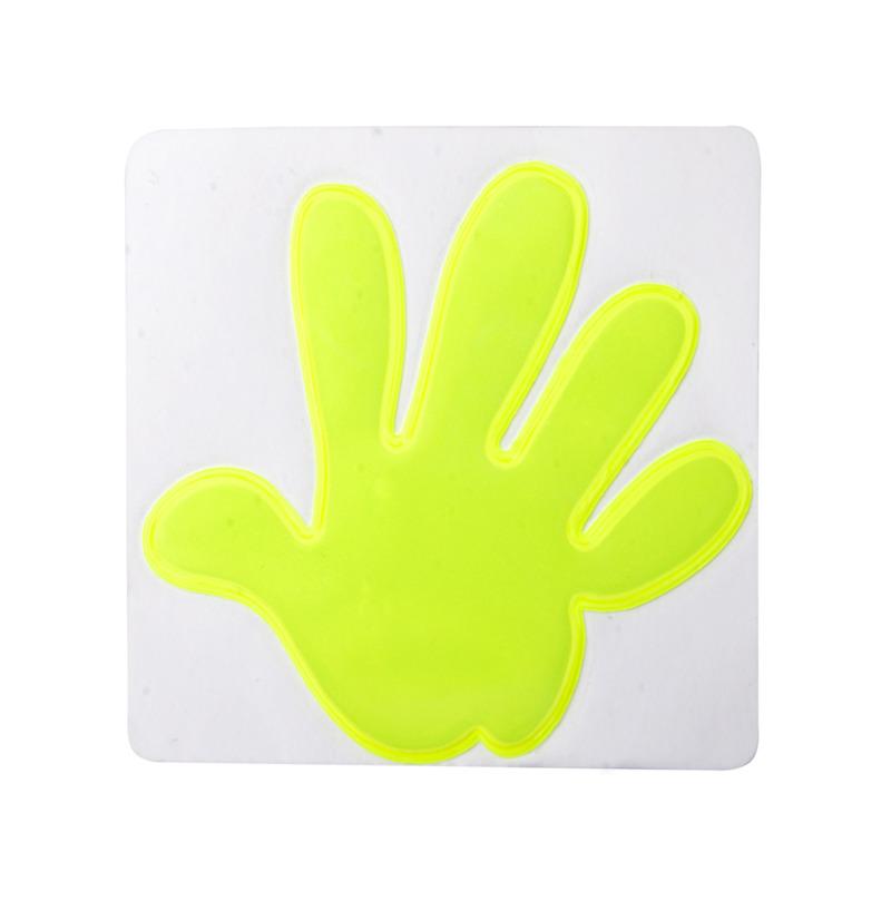 Astana reflective sticker, hand