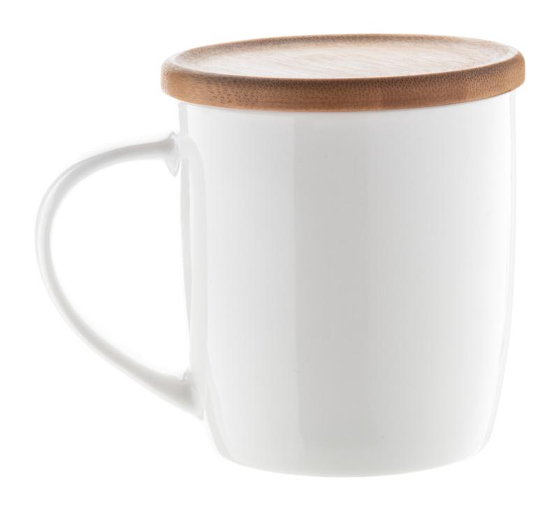 Hestia porcelain mug