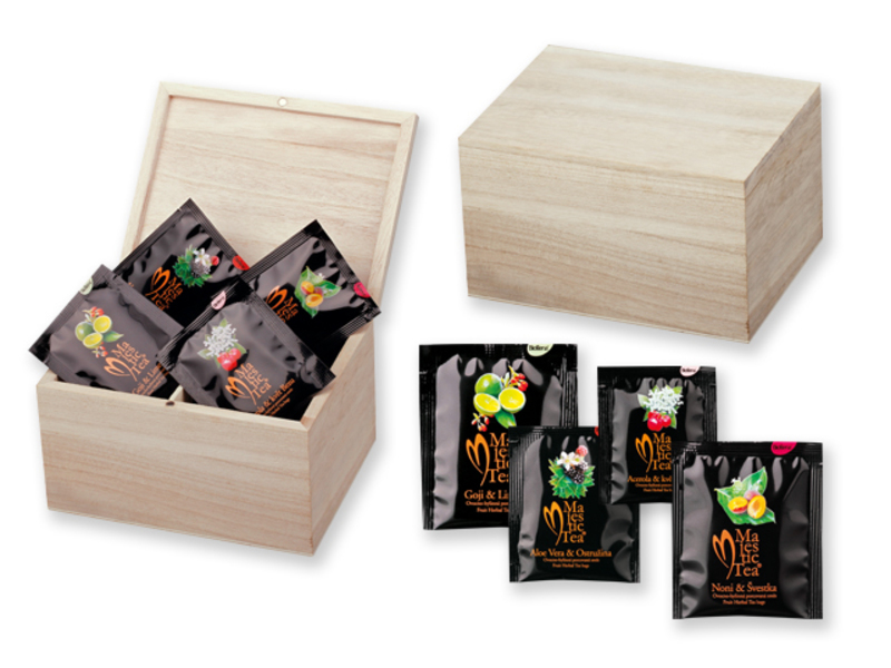CADDY tea gift set, Biogena, Natural