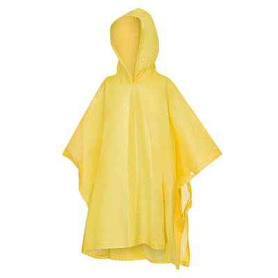 RAINBEATER children raincoat in a case, yellow