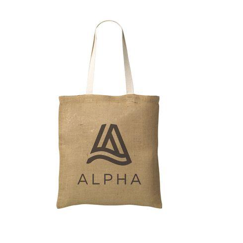 Geneva Jute Shopper bag