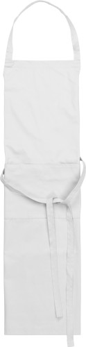 Cotton and polyester (240 gr/m²) apron