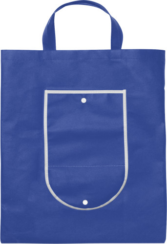 Nonwoven (80 g/m²) foldable shopping bag