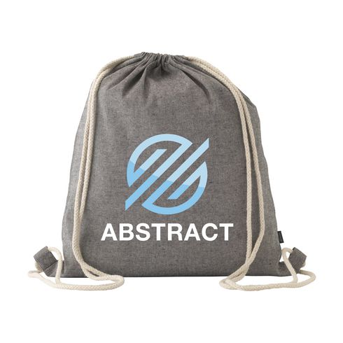 Recycled Cotton Promobag backpack