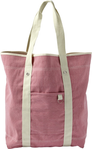Cotton twill (350 gr/m²) beach bag