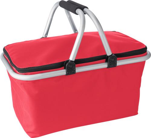 Polyester (320-330 gr/m²) shopping basket.