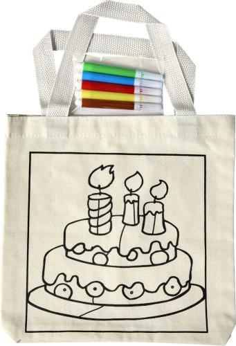 Cotton (130-140 gr/m²) shopping bag
