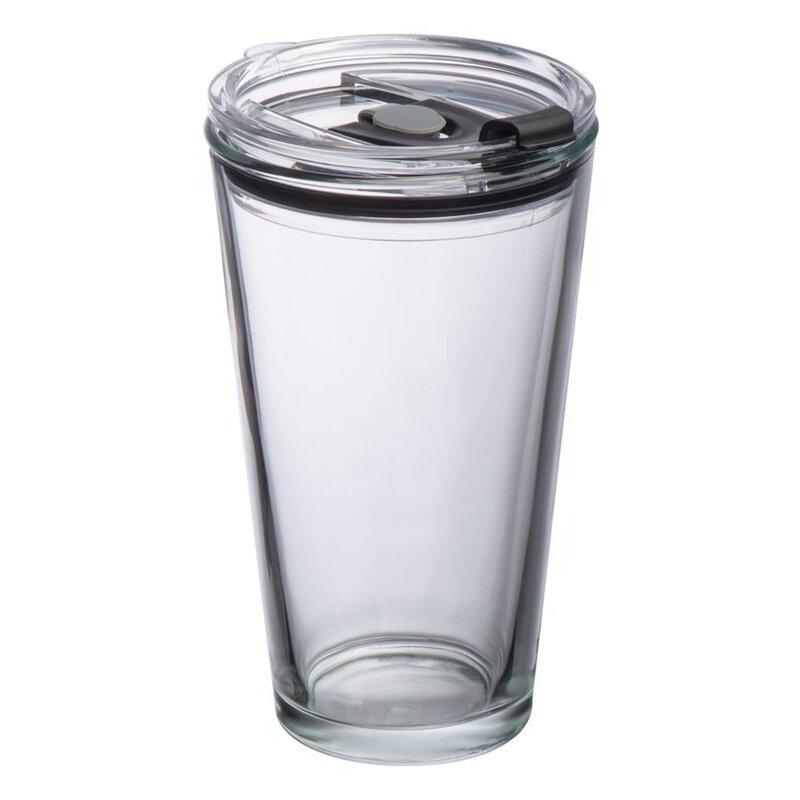 Glass mug with lid Wattenscheid