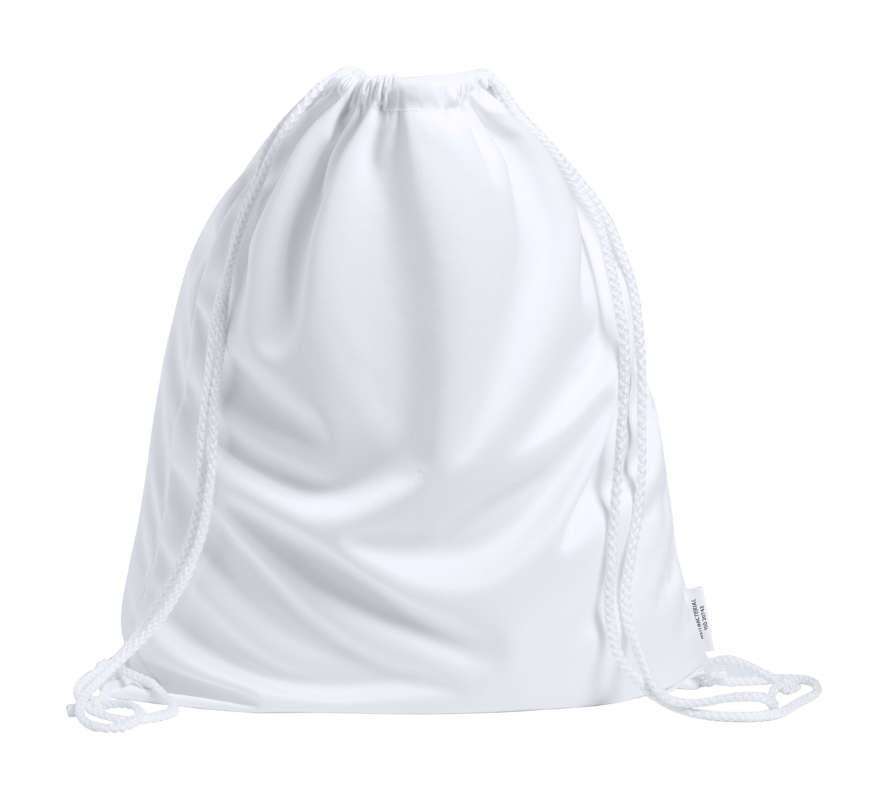 Trecel anti-bacterial drawstring bag