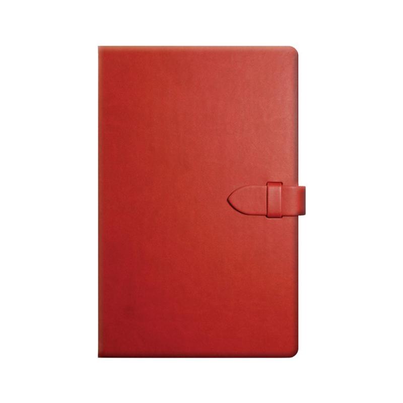 Notes Tucson Clasp Rosso, 13 x 21 cm