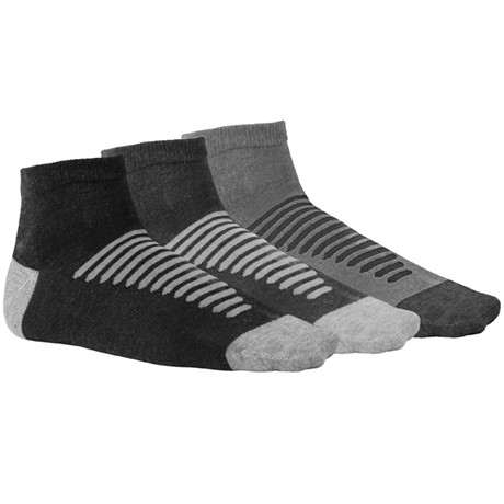KOAN SOCKS PACK-3 S/KID(31/34) DARK COMBI