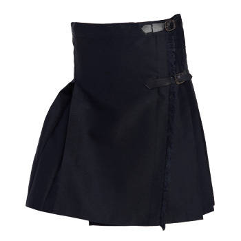 SCHOOL SKIRT WITHOUT STRAPS SKIRT S/S NAVY BLUE