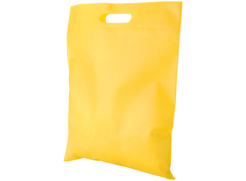 BAG IN TNT YELLOW 38X35 cm